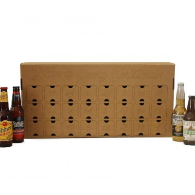 DIY Beer or Wine Advent Calendar box