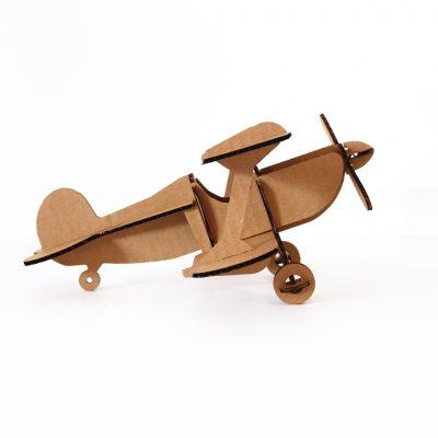 10in-long-cardboard-biplane