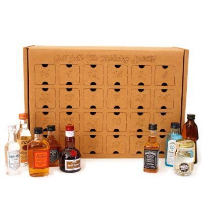 Advent Calendar for mini liquor bottles