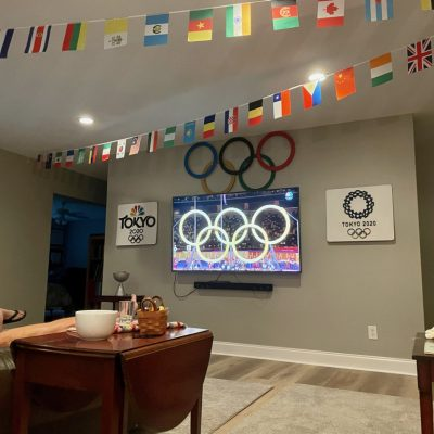 Decorating for the Olympics